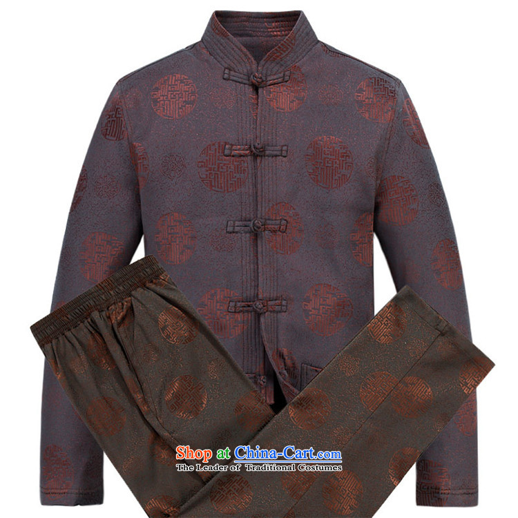Kanaguri mouse autumn and winter new Tang dynasty Long-sleeve men Tang Dynasty Package Tang jacket men fall and winter Tang pants thick red kit XL/180 picture, prices, brand platters! The elections are supplied in the national character of distribution, so action, buy now enjoy more preferential! As soon as possible.