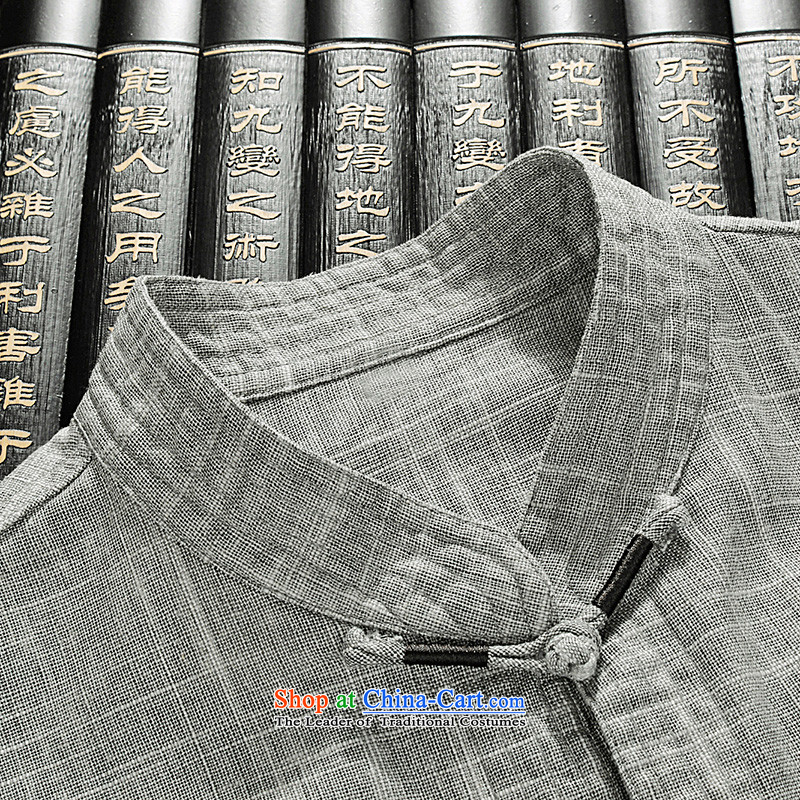 New products fall HUNNZ2015 Tang dynasty and the package for long-sleeved clothes of older persons with classical China wind load father gray聽175,HUNNZ,,, shopping on the Internet