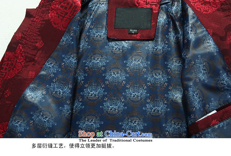 Kanaguri mouse of older persons in the autumn and winter Tang Dynasty Chinese cotton-thick coat new products men father replacing Tang dynasty聽L/175 Deep Blue Photo, prices, brand platters! The elections are supplied in the national character of distribution, so action, buy now enjoy more preferential! As soon as possible.