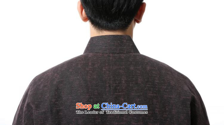 The dispatch of the Spring and Autumn Period and the Tang Dynasty New Men incense cloud yarn retro-sleeved long-sleeved sweater new Chinese high-end herbs extract dress China wind up in a mock-neck tie older shirt dark red stripes incense cloud yarn jacket XXL new products under the concept of pre-sale 3 day shipping picture, prices, brand platters! The elections are supplied in the national character of distribution, so action, buy now enjoy more preferential! As soon as possible.