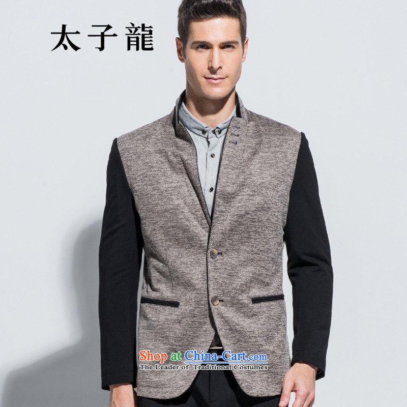 New products fall Tzu Lung counters Synchronization single row detained leisure suit male B600 175/L gray jacket