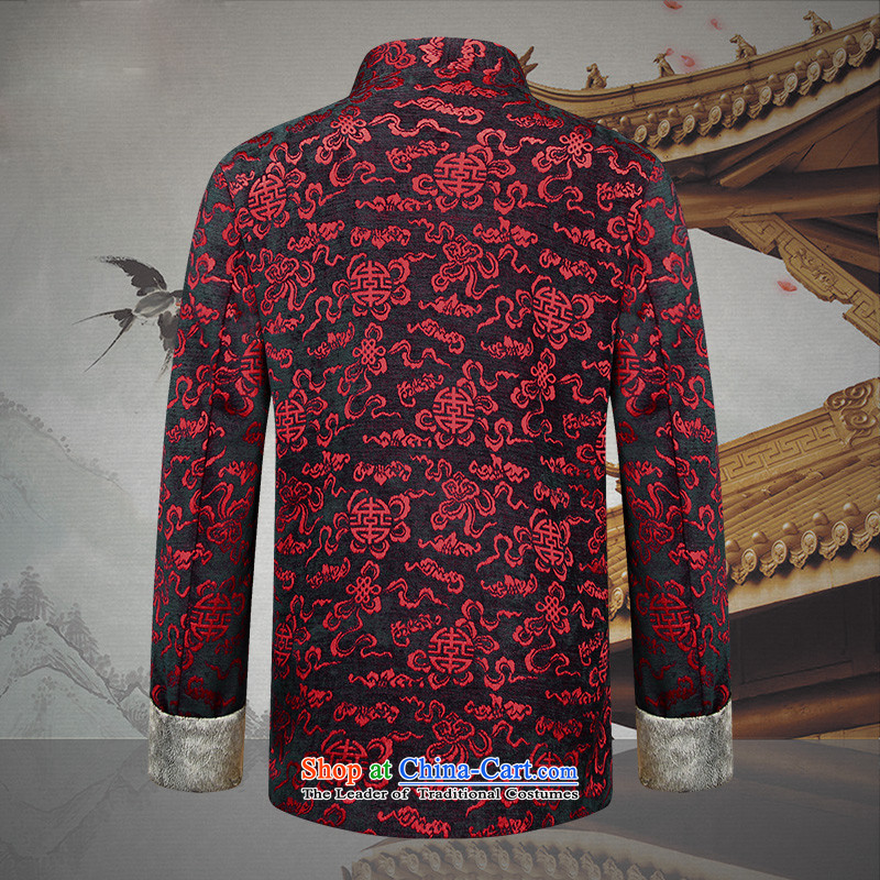 Hannizi of older persons in the new product men over Tang Dynasty Chinese dress of the Medieval Banquet Soo-stage load deep red聽and postures (Korea 190, hannizi) , , , shopping on the Internet