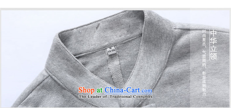 Hunnz new products simple men Tang jackets Classical China wind long-sleeved Chinese collar tray clip black jacket 165 pictures, prices, brand platters! The elections are supplied in the national character of distribution, so action, buy now enjoy more preferential! As soon as possible.