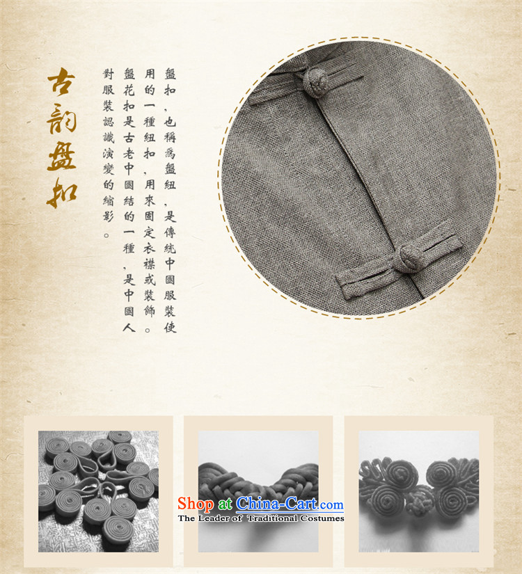 Hunnz new products natural cotton linen men Tang Dynasty Chinese national costume Kit Traditional Chinese wind up detained men Gray Photo 165, prices, brand platters! The elections are supplied in the national character of distribution, so action, buy now enjoy more preferential! As soon as possible.