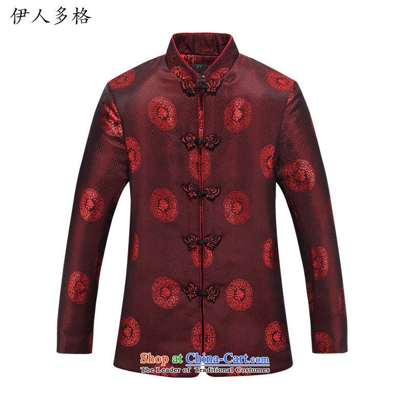 The Mai-Mai more men Tang dynasty male jacket long-sleeved sweater older persons wearing male autumn and winter clothing autumn and winter couples Tang Tang Dynasty, the collar Shou Dress�Shirt women US$ 880.6�190 men