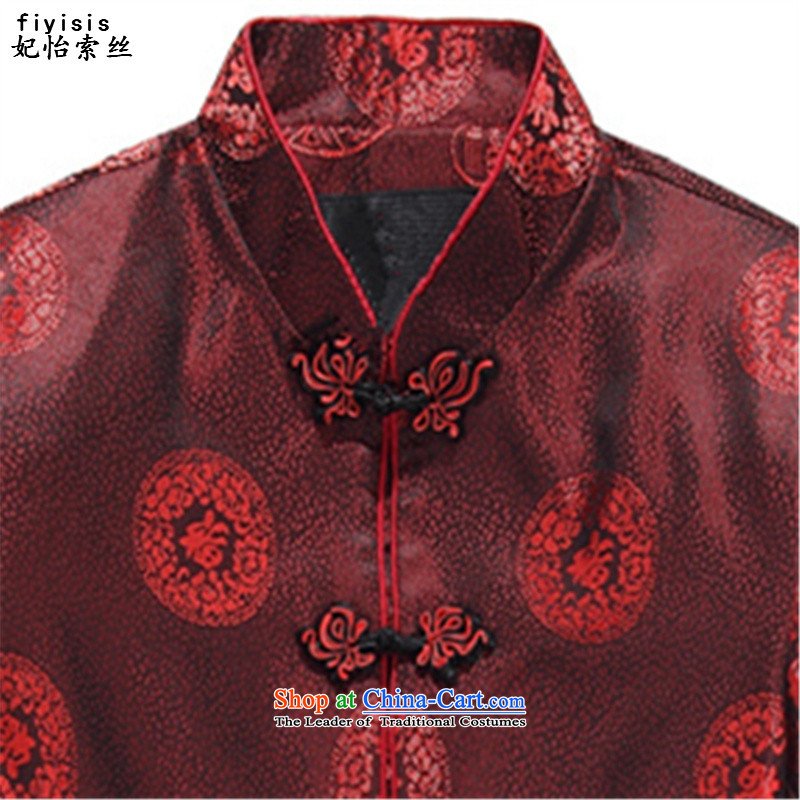 Princess Selina Chow (fiyisis autumn men Tang dynasty long-sleeved of older persons in the men's Tang blouses mom and dad couples Tang Dynasty Chinese dress jacket kit聽XXL/185 Ms. men, Princess Selina Chow (fiyisis) , , , shopping on the Internet