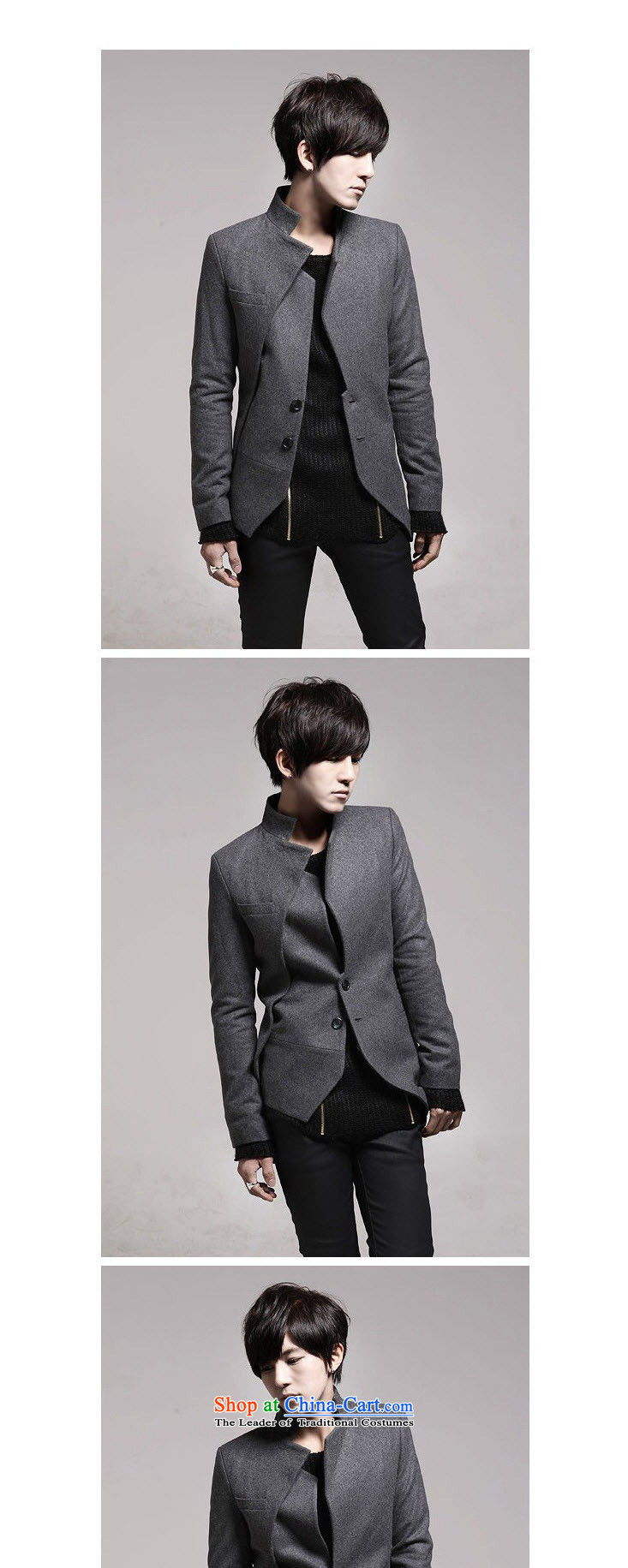 Dan Jie Shi (DANJIESHI)2015 youth stylish autumn replacing Korean men need Chinese tunic suit coats men casual dress pants black聽170/88(M) picture, prices, brand platters! The elections are supplied in the national character of distribution, so action, buy now enjoy more preferential! As soon as possible.