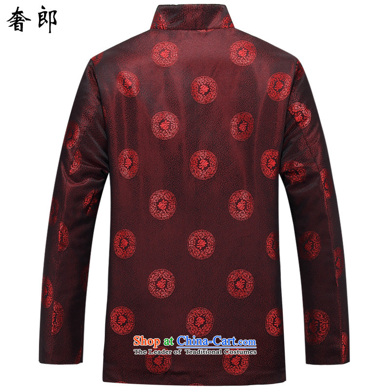 The luxury health new improved men fall and winter long-sleeved jacket Tang Mock-neck Han-Chinese tunic, elderly men costume clothing couples Tang dynasty -88030 female clothes聽in the luxury of US$ 880.6 Sanitation has been pressed shopping on the Interne