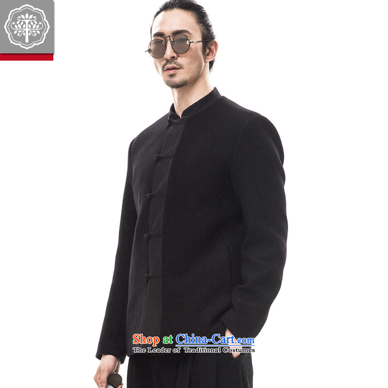 2015 Autumn tree to new Tang Dynasty Chinese Men's Mock-Neck tray clip jacket gross? China Wind Jacket Color?165_S Hyun