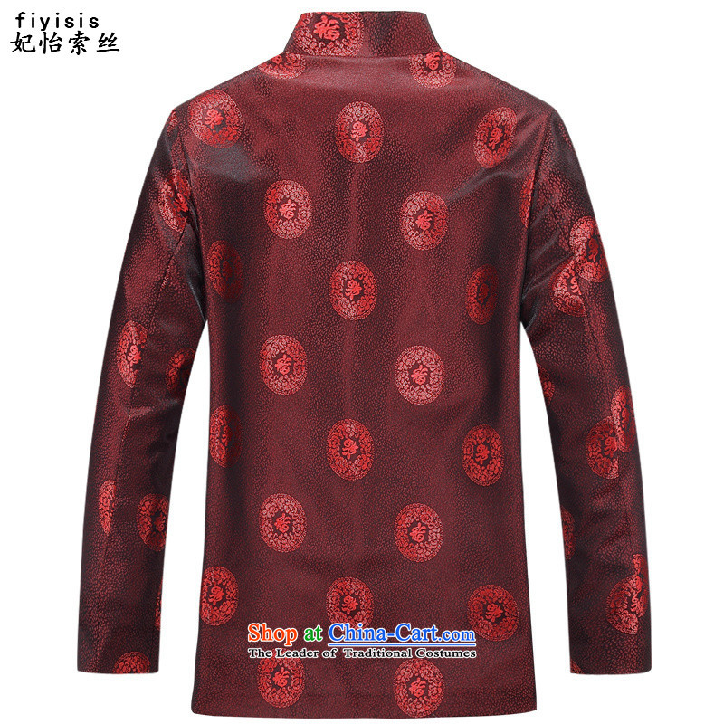 Princess SELINA CHOW (in autumn) fiyisis Older Women's clothes men Tang Tang dynasty elderly couples mom and dad golden marriage birthday feast birthday Long-Sleeve Shirt men 8806聽175 women, Princess Selina Chow (fiyisis) , , , shopping on the Internet