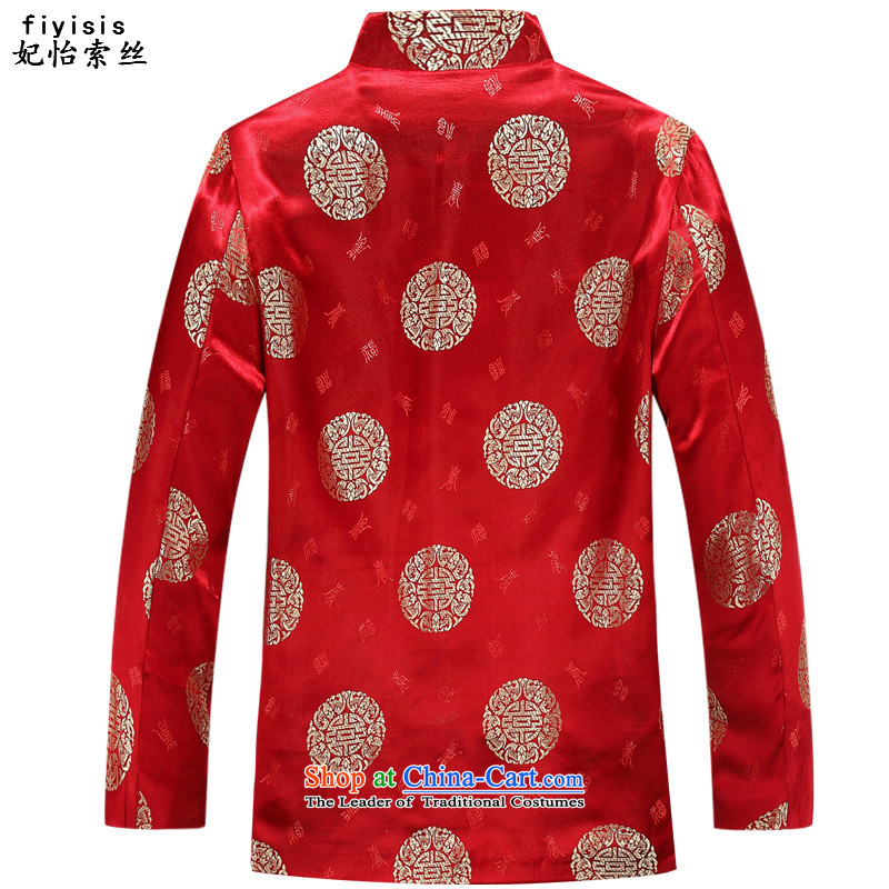 Princess Selina Chow (fiyisis) China wind autumn, couples with Tang Dynasty Package elderly long-sleeved birthday celebration at the life of her red dress jacket men red t-shirt聽, princess of female 160 Selina Chow (fiyisis) , , , shopping on the Internet