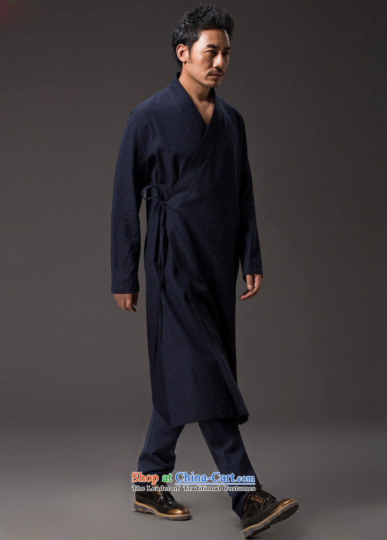 Hannizi聽China wind natural cotton linen Zen master service Tang dynasty Classic Han-Loose ball-wise services services practice deep blue聽XL Photo, prices, brand platters! The elections are supplied in the national character of distribution, so action, buy now enjoy more preferential! As soon as possible.