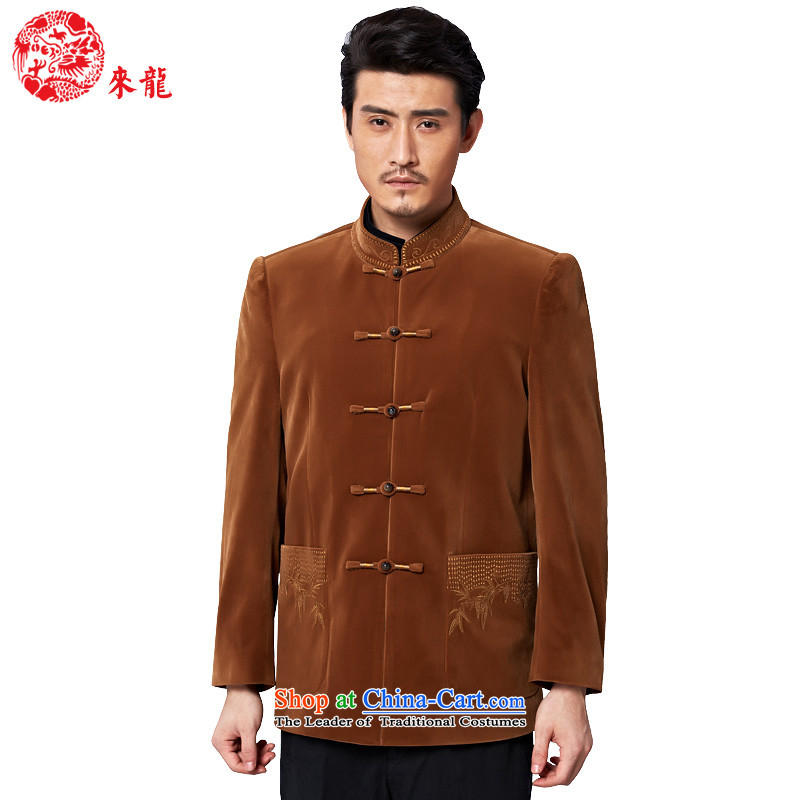 To Tang dynasty dragon autumn and winter, China Wind Jacket 13038 men and color and color 52
