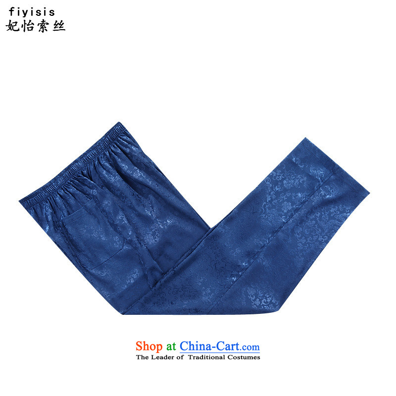 Princess Selina Chow (fiyisis autumn of older persons in the men s Tang dynasty male Kit China wind Chinese leisure national service for larger father Blue Kit聽185 Princess Selina Chow (fiyisis) , , , shopping on the Internet