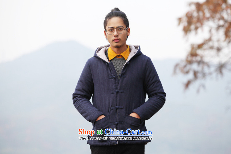 Dan Jie Shi 2015 new ethnic Chinese men Tang Dynasty of Korea disc deduction Coat cap cotton coat retro ethnic thick robe vogue pickled green L picture, prices, brand platters! The elections are supplied in the national character of distribution, so action, buy now enjoy more preferential! As soon as possible.