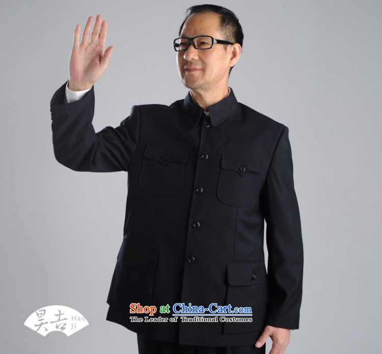 In spring and autumn, ho older men Chinese tunic suit for both business and leisure services to serve Zhongshan older persons Tang Kit (black) 70(165) lint-free pictures, prices, brand platters! The elections are supplied in the national character of distribution, so action, buy now enjoy more preferential! As soon as possible.
