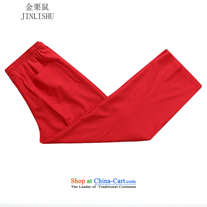 Kanaguri mouse autumn and winter New Men long-sleeved sweater Tang Dynasty Package red kit聽XXL, kanaguri mouse (JINLISHU) , , , shopping on the Internet