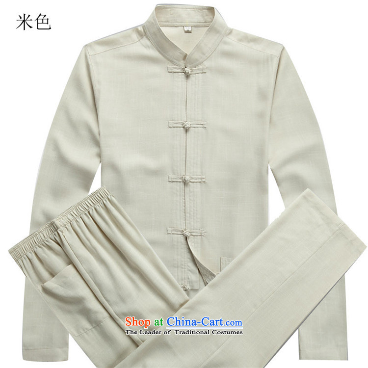 Kanaguri mouse autumn and winter new Tang dynasty in older long-sleeved Kit Man Tang Dynasty Package聽XXXL beige picture, prices, brand platters! The elections are supplied in the national character of distribution, so action, buy now enjoy more preferential! As soon as possible.