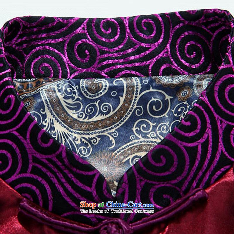 Kanaguri Mouse Tang jacket collar Chinese tunic of older tapes purple聽M kanaguri mouse (JINLISHU) , , , shopping on the Internet