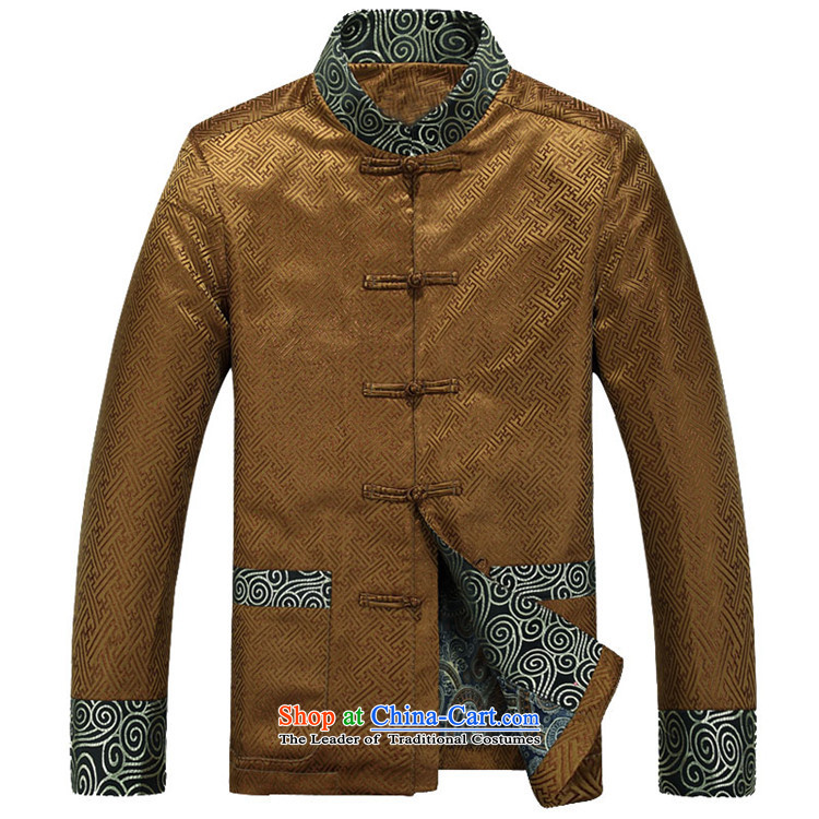 Kanaguri Mouse Tang dynasty Long-sleeve Autumn New Men Tang jackets, GOLD聽L photo jacket, prices, brand platters! The elections are supplied in the national character of distribution, so action, buy now enjoy more preferential! As soon as possible.