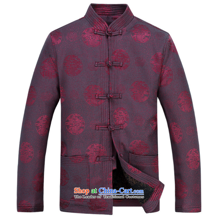 Kanaguri mouse autumn and winter new Tang dynasty Long-sleeve men Tang Dynasty Package Tang jacket men fall and winter Tang pants thick red kit M/170 picture, prices, brand platters! The elections are supplied in the national character of distribution, so action, buy now enjoy more preferential! As soon as possible.