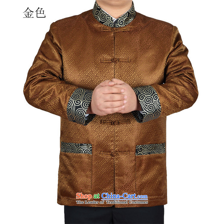 Kanaguri Mouse Tang dynasty long-sleeved autumn New Men Tang jackets gold聽M pictures, prices, brand platters! The elections are supplied in the national character of distribution, so action, buy now enjoy more preferential! As soon as possible.