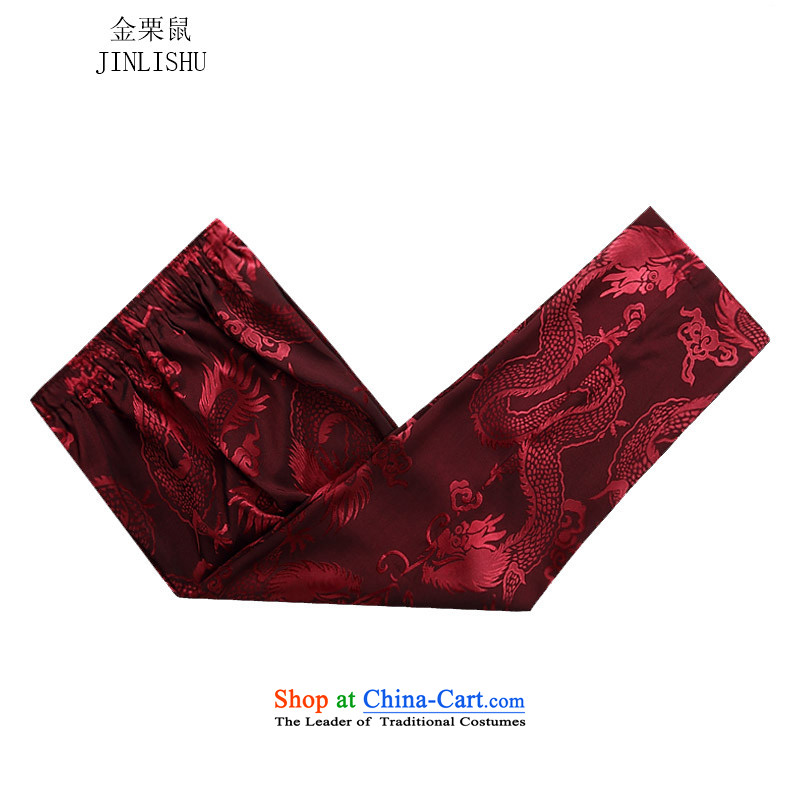 Kanaguri mouse autumn and winter new Tang Dynasty Package long-sleeved men's father red kit聽M kanaguri mouse (JINLISHU) , , , shopping on the Internet