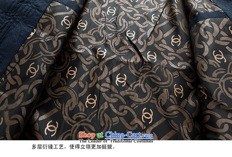 Kanaguri Mouse New Tang dynasty and long-sleeved kit autumn and winter, Tang dynasty men dark blue packaged聽XXXL picture, prices, brand platters! The elections are supplied in the national character of distribution, so action, buy now enjoy more preferential! As soon as possible.