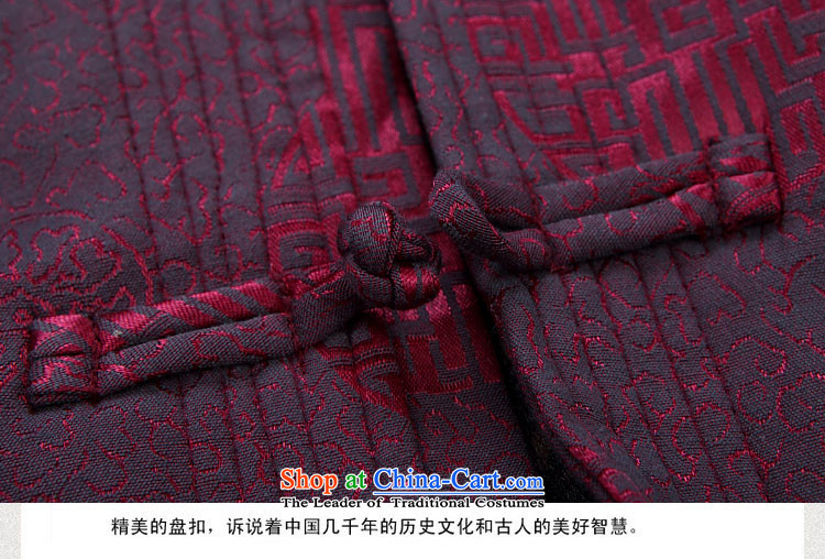 Kanaguri mouse winter men Tang dynasty warm thick cotton coat in older plus lint-free cotton jacket coat kit father winter clothing dark blue packaged聽M/170 picture, prices, brand platters! The elections are supplied in the national character of distribution, so action, buy now enjoy more preferential! As soon as possible.