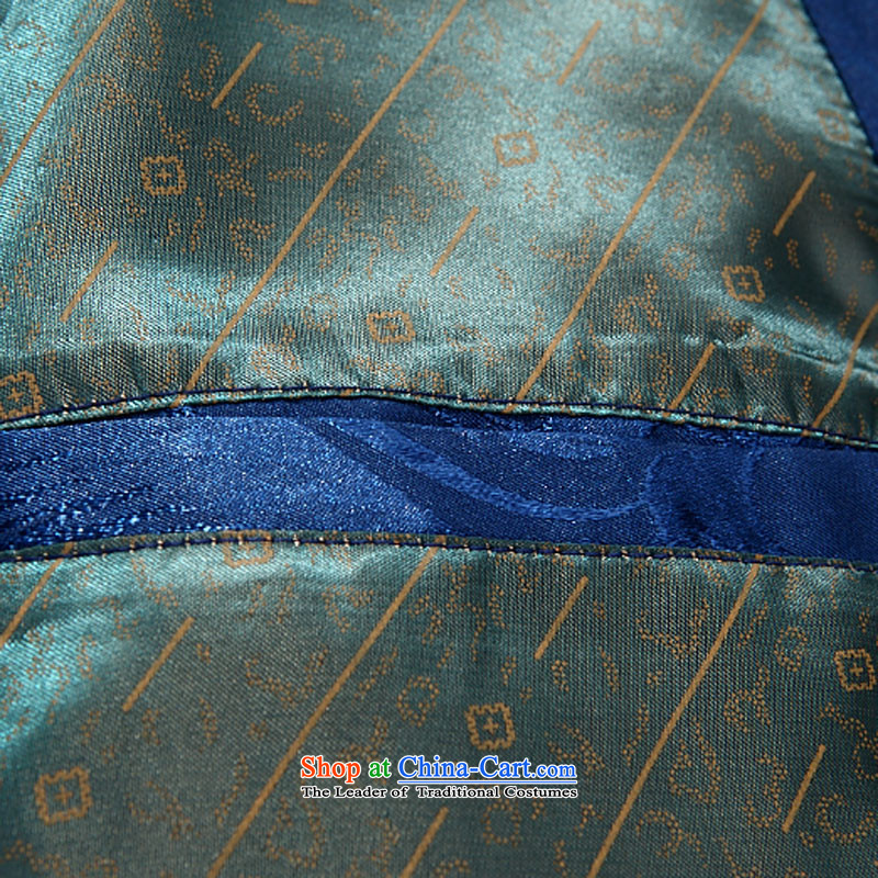 Kanaguri mouse men Tang jackets in older long sleeve jacket father Boxed Sets blue聽90, Kim (JINLISHU Gopher) , , , shopping on the Internet