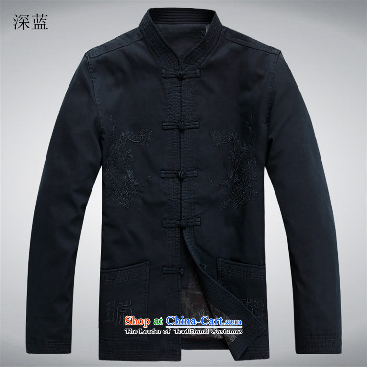 Kanaguri mouse autumn and winter new Tang dynasty in older men Tang jacket dark blue聽XL Photo, prices, brand platters! The elections are supplied in the national character of distribution, so action, buy now enjoy more preferential! As soon as possible.