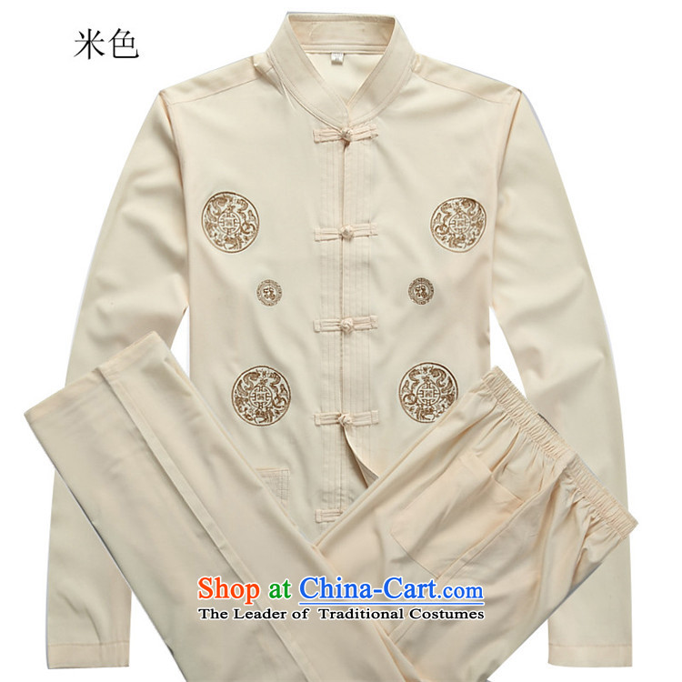 Kanaguri mouse autumn new Tang dynasty China wind and long-sleeved Tang Dynasty Package men t-shirt Chinese men white shirt XL Photo, prices, brand platters! The elections are supplied in the national character of distribution, so action, buy now enjoy more preferential! As soon as possible.