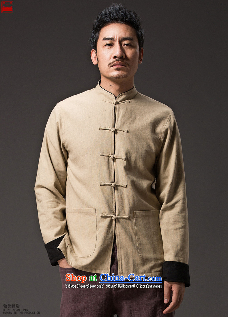 Renowned Chinese Services China wind retro men wearing Chinese men duplex Tang dynasty long-sleeved Sau San Disk Spring Collar deduction jacket 0368XL pictures, price Wong, brand platters! The elections are supplied in the national character of distribution, so action, buy now enjoy more preferential! As soon as possible.