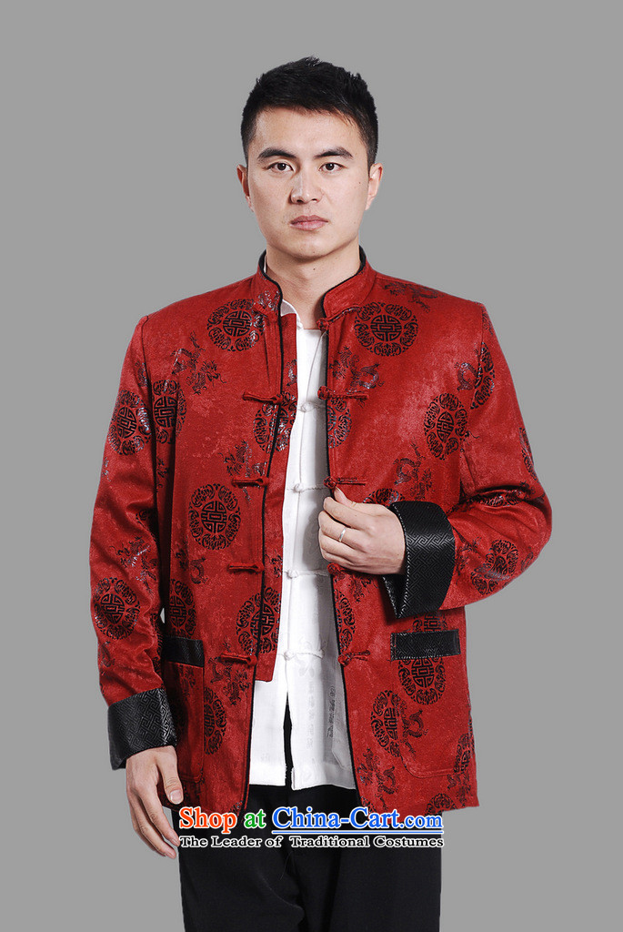 Picking Frequency Male jacket water Sable Hair Tang Add Tang dynasty lint-free men long-sleeved sweater Chinese Dragon Tang blouses red XXL picture, prices, brand platters! The elections are supplied in the national character of distribution, so action, buy now enjoy more preferential! As soon as possible.