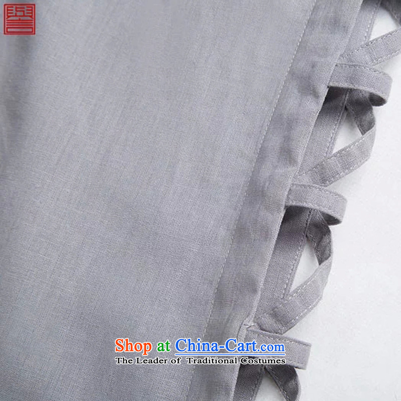 Renowned Chinese men vest summer clothing loose breathable vest and round-neck collar China wind white style robes Khan vest engraving Tang dynasty large white L, renowned (chiyu) , , , shopping on the Internet