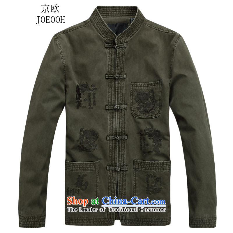 Beijing?2015 new in Europe older men fall short Jacket?Color?M/170 No. 2