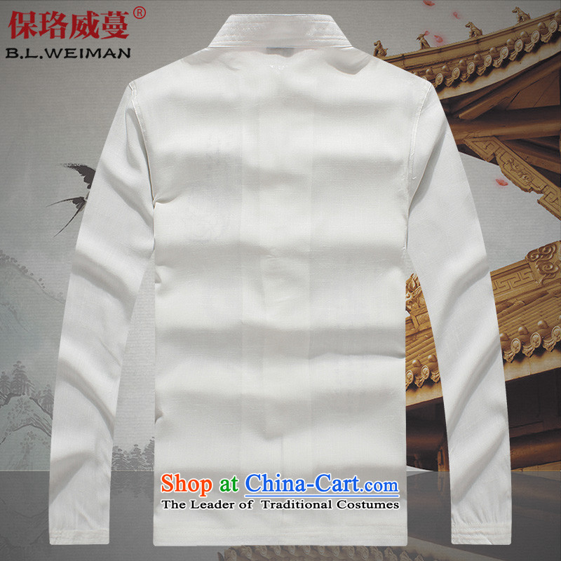 The Lhoba nationality Wei Mephidross Warranty Tang dynasty male short-sleeved summer Tang dynasty men of older persons and Tang dynasty China wind shirt men married Black聽XL, warranty, Judy Wai (B.L.WEIMAN Overgrown Tomb) , , , shopping on the Internet