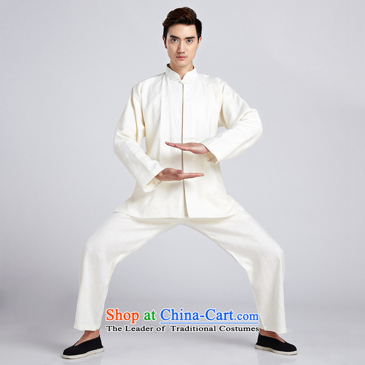 Dan smoking flax men Tang Dynasty Package China wind shirt collar Chinese Classical Chinese tunic Taegeuk Service Han-kung fu shirt聽- 6 2XL Photo, prices, brand platters! The elections are supplied in the national character of distribution, so action, buy now enjoy more preferential! As soon as possible.