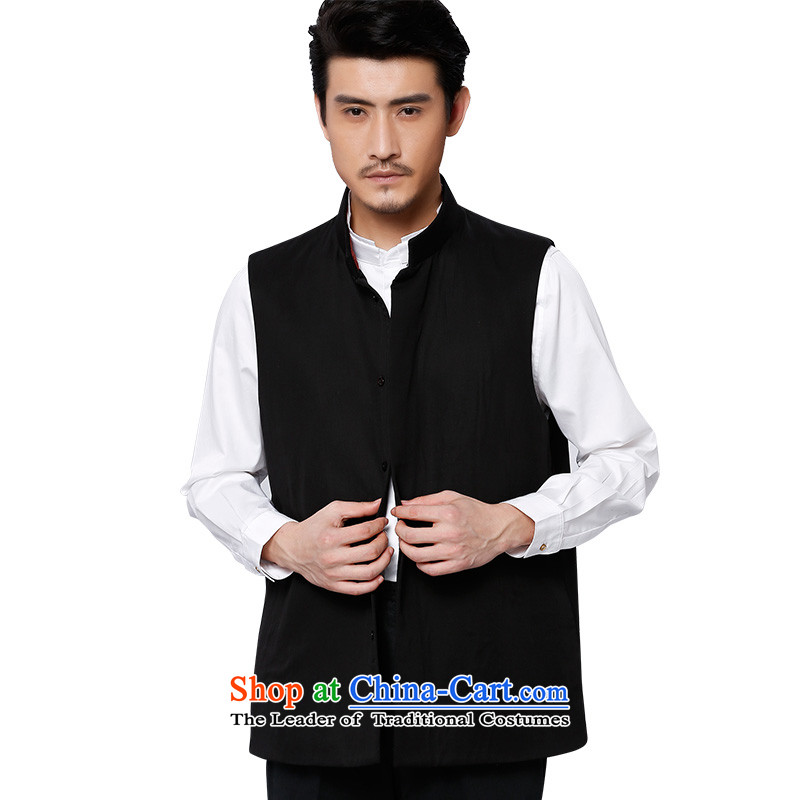 To Tang Dynasty Dragon�2015 autumn and winter New China wind men TENCEL MA�15578 Clip�Black�50