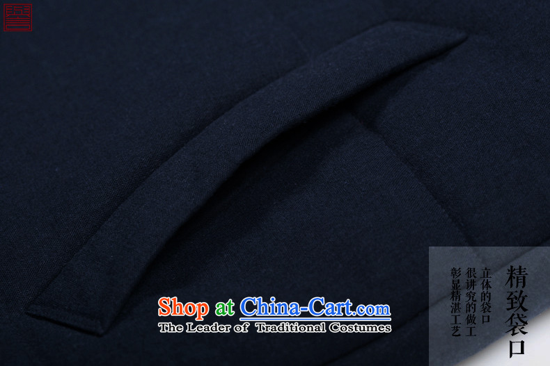 Renowned Chinese services for winter coats men casual single row tie china wind-long thick cotton men windbreaker cotton coat jacket herbs extract cotton coat and deep blue coat聽XL Photo, prices, brand platters! The elections are supplied in the national character of distribution, so action, buy now enjoy more preferential! As soon as possible.