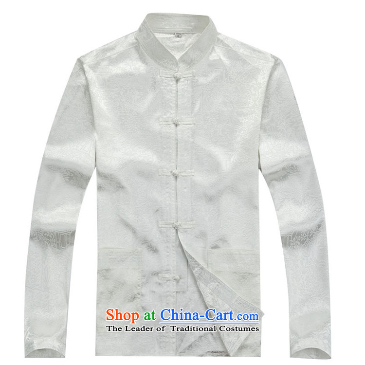 Beijing New Autumn Europe Tang dynasty Long-sleeve Kit Man Tang Dynasty Package聽XXXL beige picture, prices, brand platters! The elections are supplied in the national character of distribution, so action, buy now enjoy more preferential! As soon as possible.