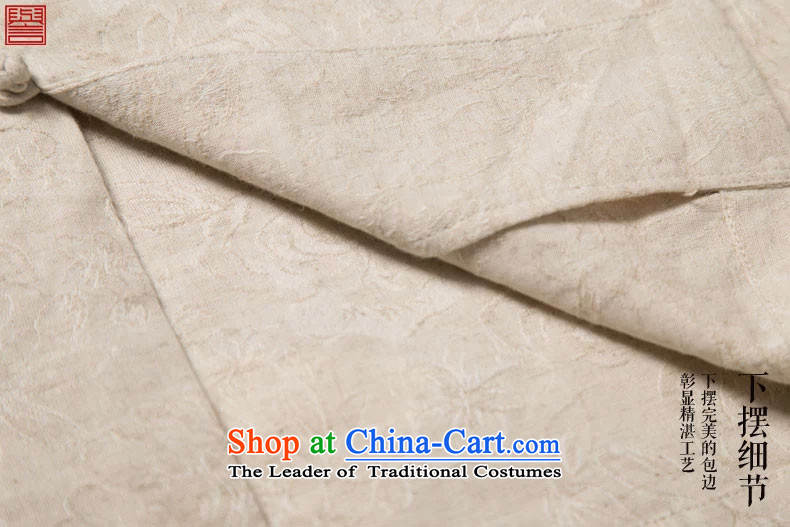 Renowned China wind on the fall of New Men's shirts and Tang dynasty jacquard male Long-Sleeve Shirt Han-Chinese men's national costumes autumn retro shirt Yellow聽XL Photo, prices, brand platters! The elections are supplied in the national character of distribution, so action, buy now enjoy more preferential! As soon as possible.