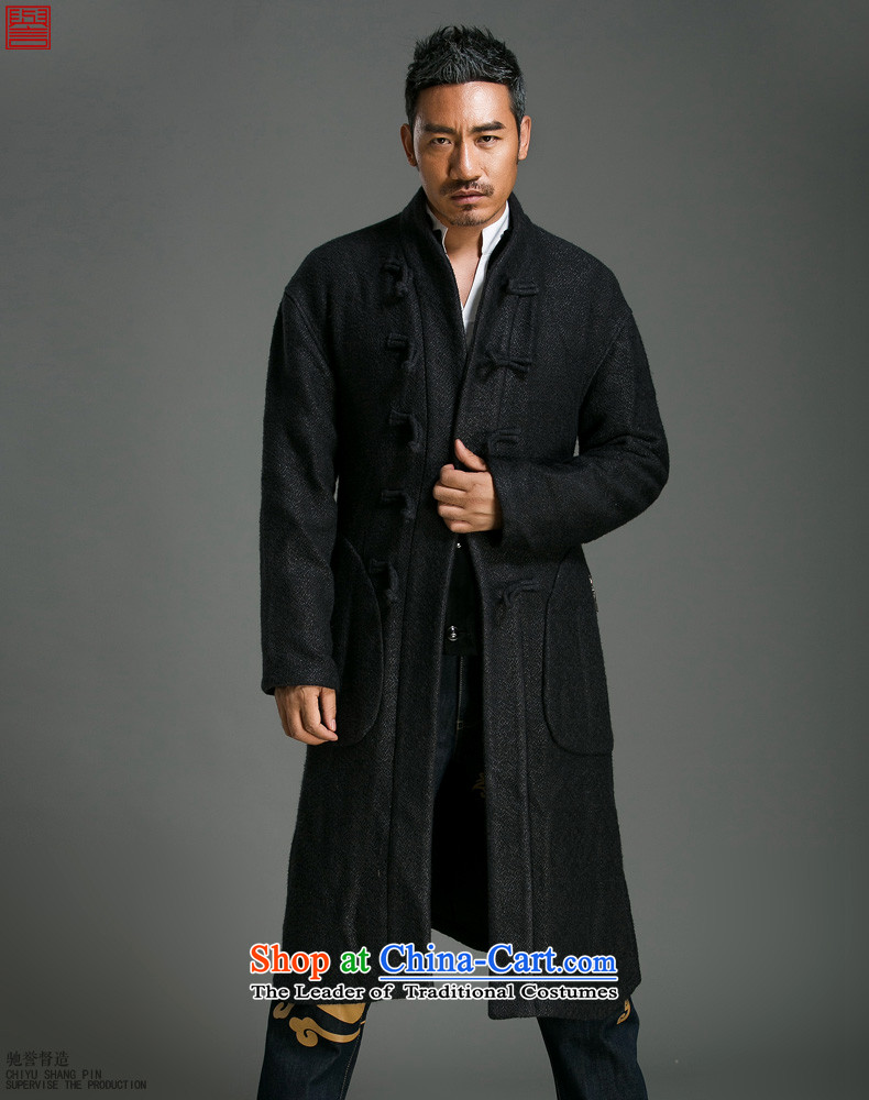 Renowned Chinese men of autumn and winter clothing leisure