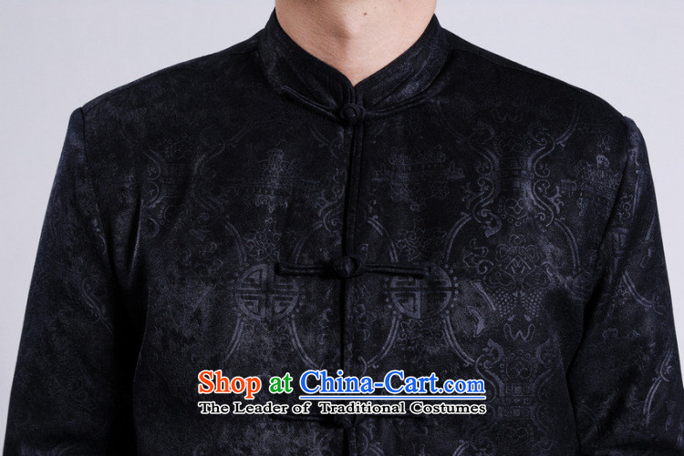 Min Joseph Men's Jackets thick cotton plus add-Tang Tang replacing men long-sleeved sweater Chinese Dragon Tang blouses red聽XXL picture, prices, brand platters! The elections are supplied in the national character of distribution, so action, buy now enjoy more preferential! As soon as possible.