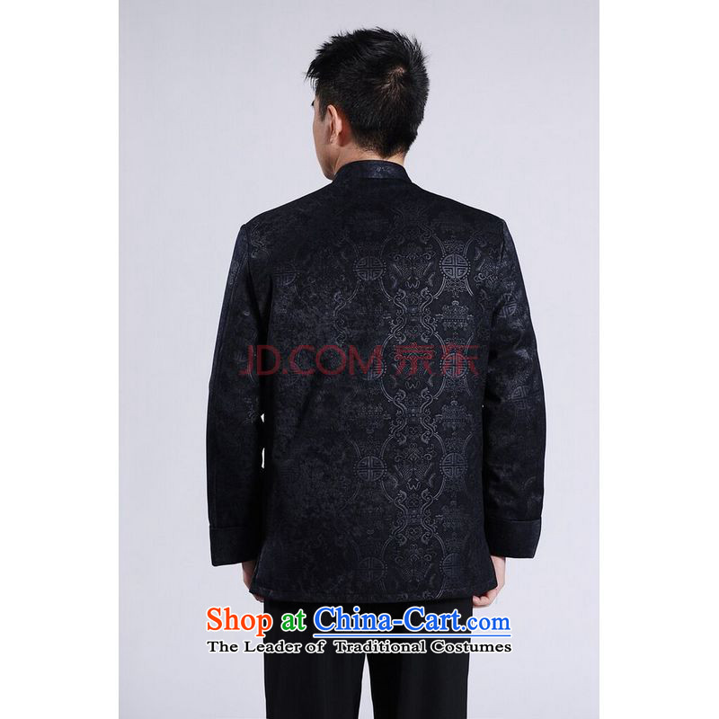 Min Joseph Men's Jackets thick cotton plus add-Tang Tang replacing men long-sleeved sweater Chinese Dragon Tang blouses聽XXL, red cotton Joseph shopping on the Internet has been pressed.