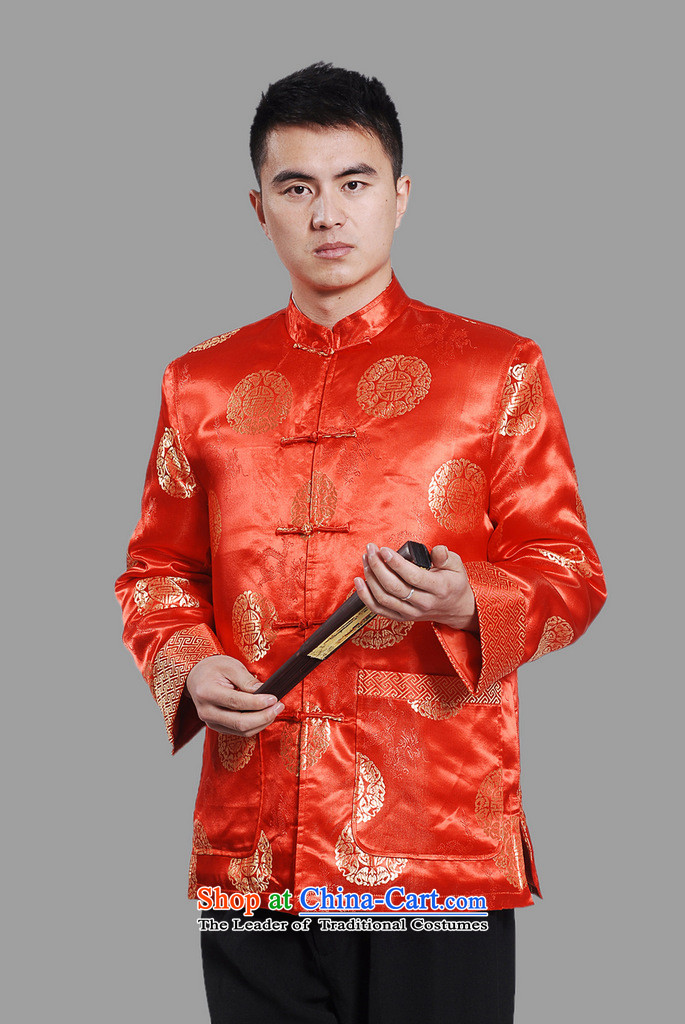 Min Joseph Men's Jackets thick cotton plus add-Tang Tang replacing men long-sleeved sweater Chinese Dragon Tang blouses聽-C on cyan聽XXXL picture, prices, brand platters! The elections are supplied in the national character of distribution, so action, buy now enjoy more preferential! As soon as possible.