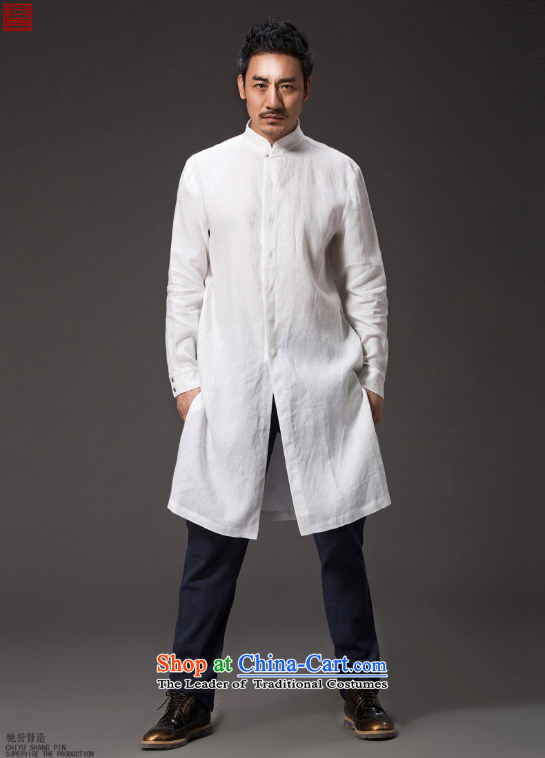 Renowned Chinese renowned service Tang dynasty China Wind, men fall linen men casual clothes for men national costumes of men's white windbreaker聽4XL Photo, prices, brand platters! The elections are supplied in the national character of distribution, so action, buy now enjoy more preferential! As soon as possible.
