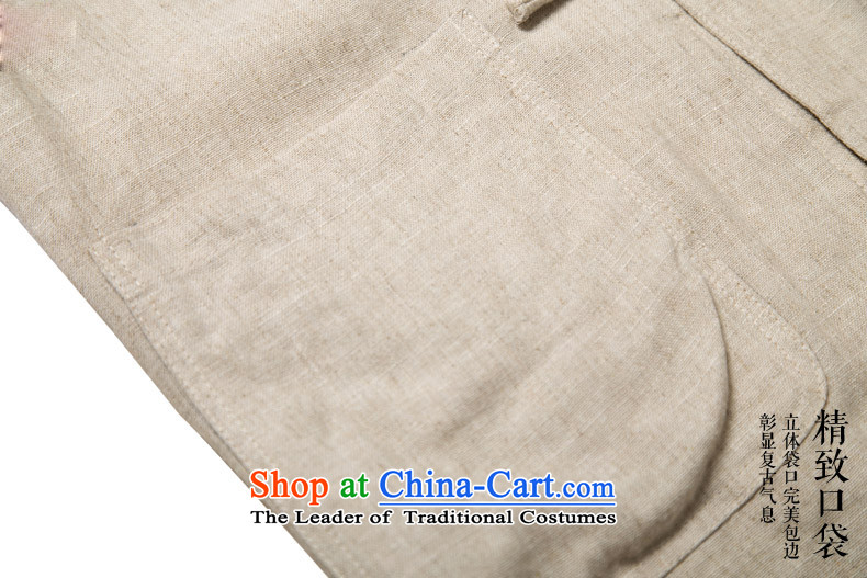 Hunnz China wind cotton linen men tray clip collar Tang dynasty retro men who are ethnic long sleeved shirt gray聽XXL picture, prices, brand platters! The elections are supplied in the national character of distribution, so action, buy now enjoy more preferential! As soon as possible.
