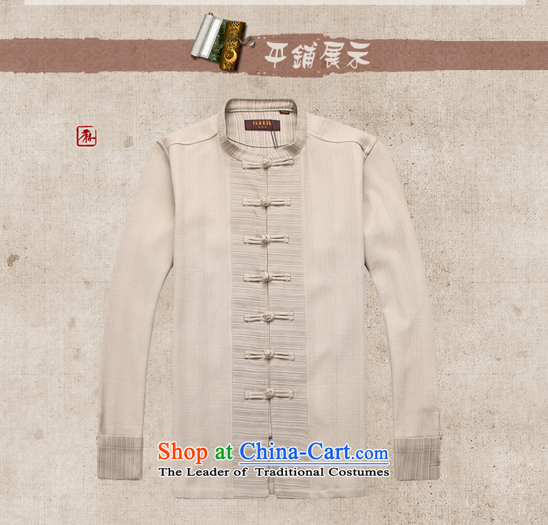 Hunnz New Products China wind men linen Tang dynasty Classic minimalist zen long-sleeved clothing pure color is detained retro men Light Gray聽Photo 165, prices, brand platters! The elections are supplied in the national character of distribution, so action, buy now enjoy more preferential! As soon as possible.