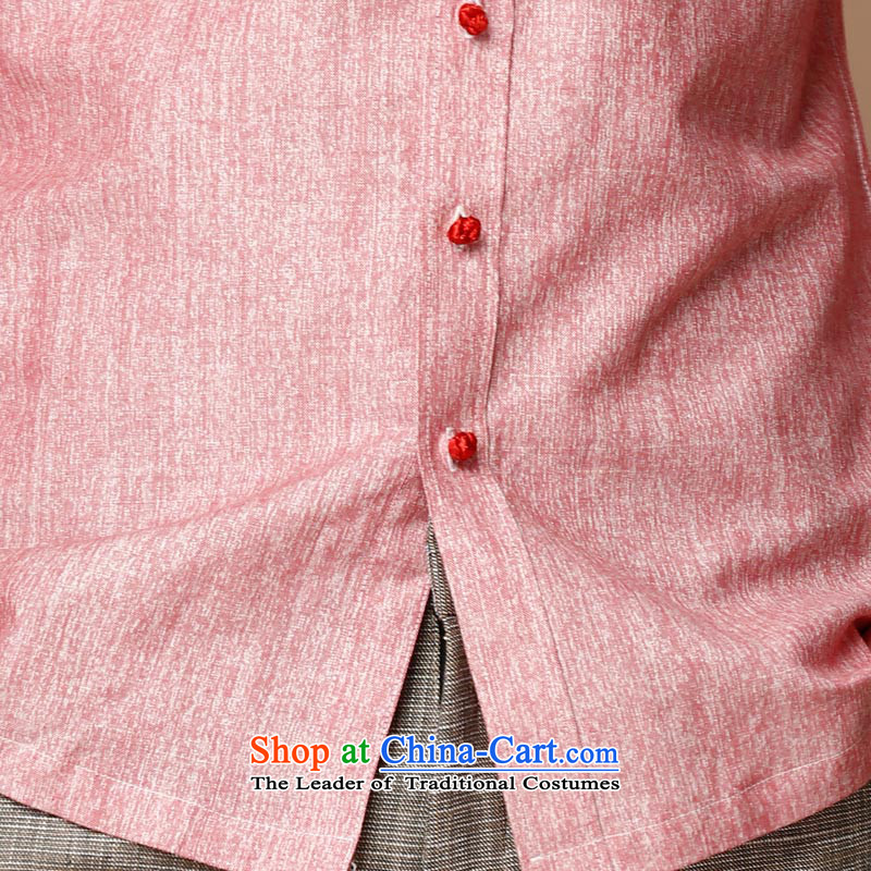 Hunnz New Products Linen China wind men Tang dynasty retro long-sleeved shirt collar men's jackets classic ball-services rose 180,HUNNZ,,, shopping on the Internet